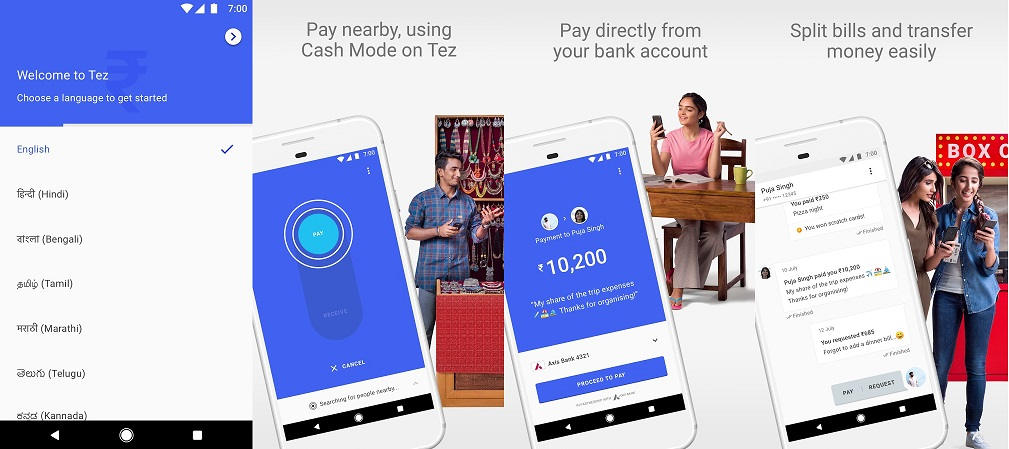 Google Tez App in Action, All features, uses