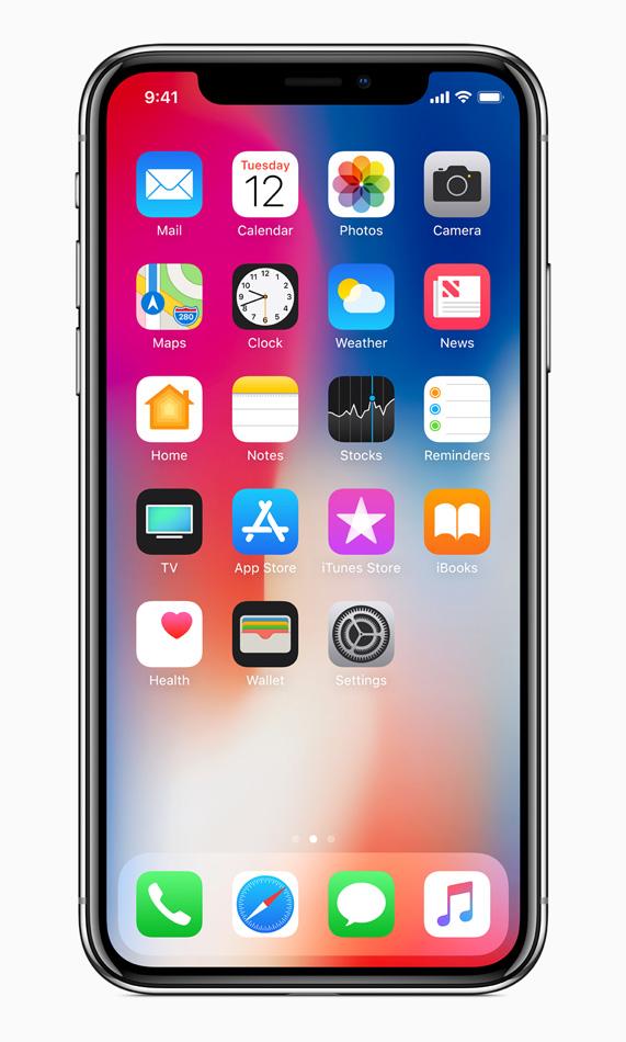 Apple iPhone X - how it looks
