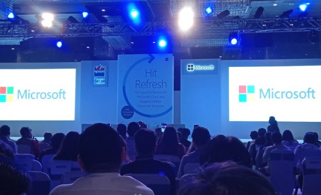 Satya Nadella Hit Refresh book launch Delhi
