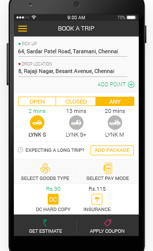 Top 6 Trucking , Logistics, Moving Services Mobile Apps in India for